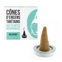 Les Encens du Monde - Encens tibetain Relaxant 15 cones