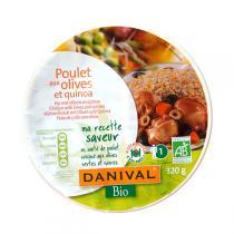 Danival - Poulet aux Olives et Quinoa Bio 320g