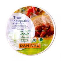 Danival - Thon à la Basquaise et Riz Complet Bio 320g