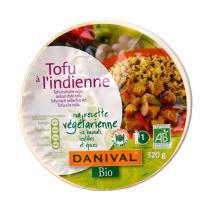 Danival - Tofu à l'Indienne Bio Riz Lentilles Epices 320g