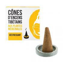 Les Encens du Monde - Encens tibétain Déstressant 15 cônes