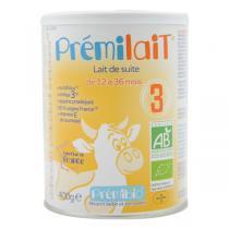 Prémibio® - Prémilait® Croissance 12-36 Mois 400g