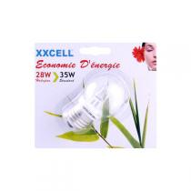 Xxcell - ECO 30 Sphere light bulb 28W B22