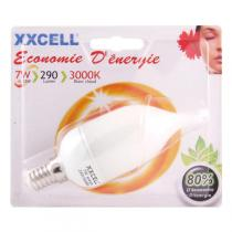 Xxcell - ECO bulb 7W E14 Warm White Flame