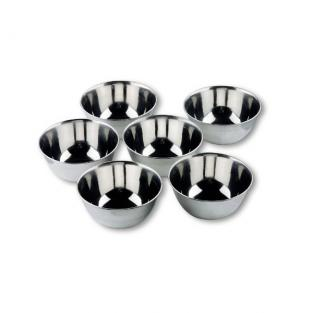 Lacor - 6 Small Stainless Steel Bowls