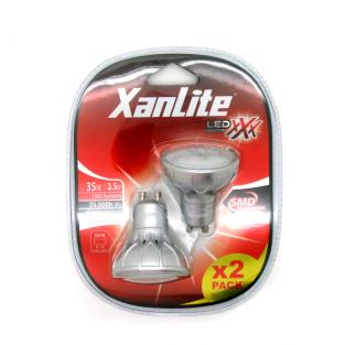 Xanlite - 2er Set GU10 XXX Evolution 2,8W 35W