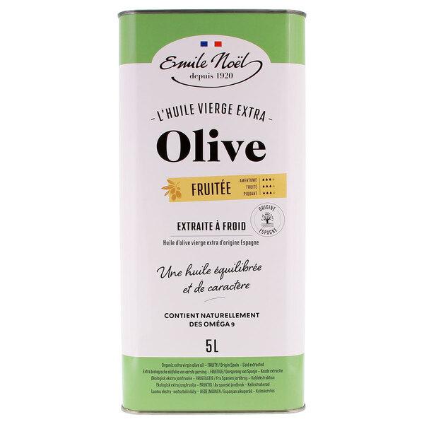 Emile Noel - Huile d'olive vierge extra fruitée 5L
