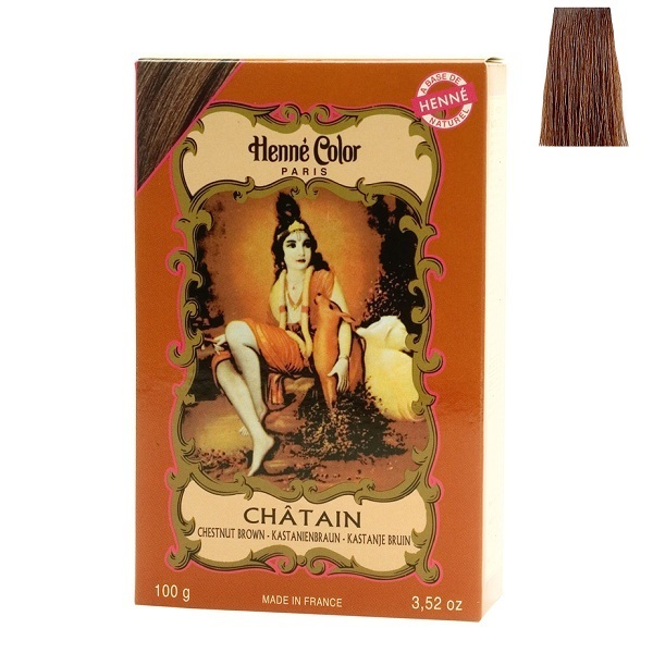 henne color coloration henn chtain poudre 100g loading zoom - Coloration Henne Chatain Clair