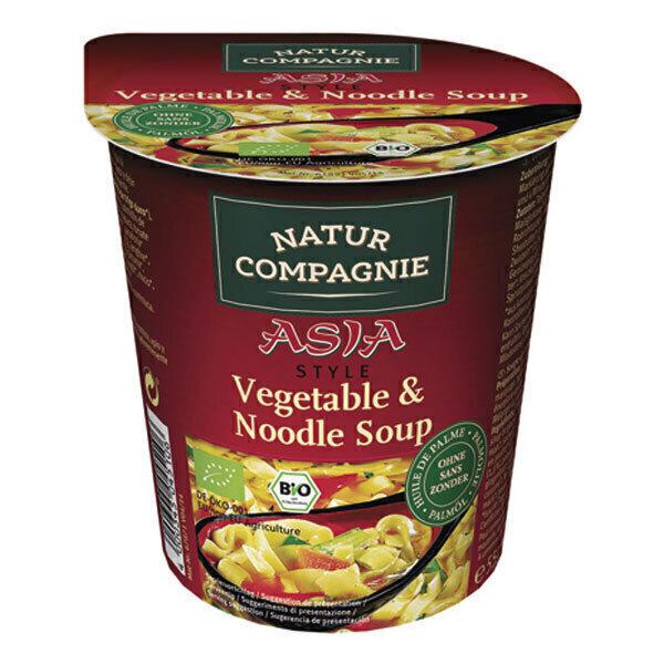 Natur Compagnie - Soupe asiatique légumes aux pâtes 55g