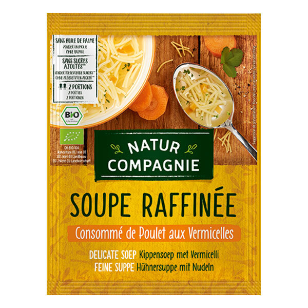 Natur Compagnie - Soupe poulet et vermicelles 50cl
