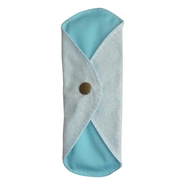 Toudoo Natura - Protège Slip Lavable Coton Bio Bleu