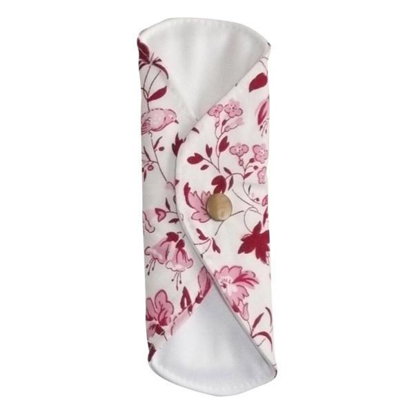 prot ge slip lavable coton bio fleurs oiseaux toudoo natura la r f rence bien. Black Bedroom Furniture Sets. Home Design Ideas
