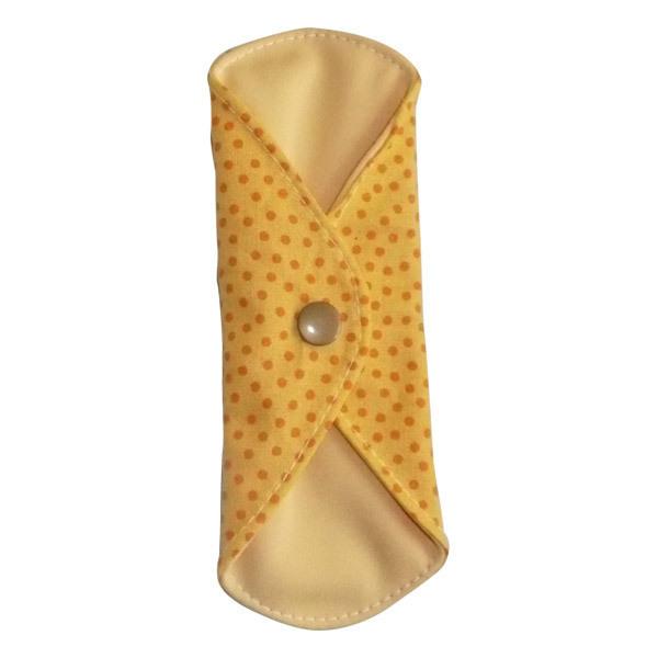 Toudoo Natura - Protège Slip Lavable Coton Bio Jaune