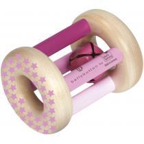Selecta - Hochet étoilé rose
