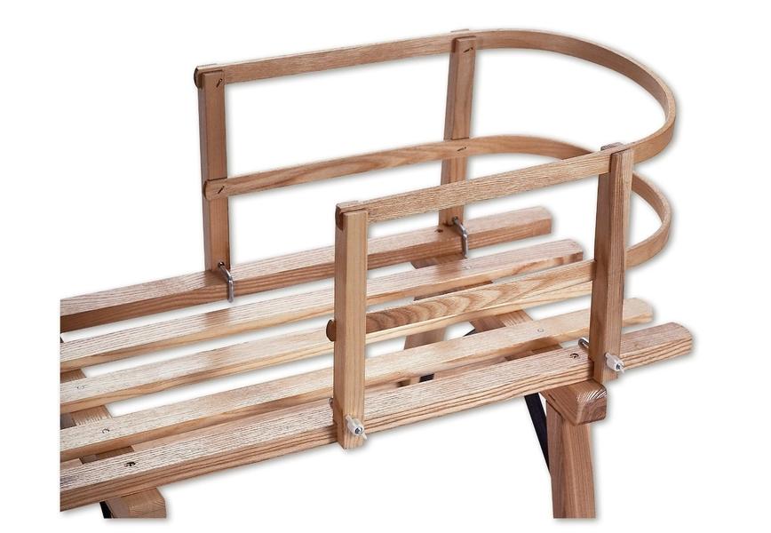 Sirch - Dossier pour luge en bois