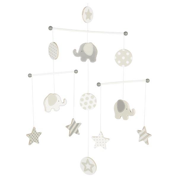 Goki - Mobile éléphants et étoiles