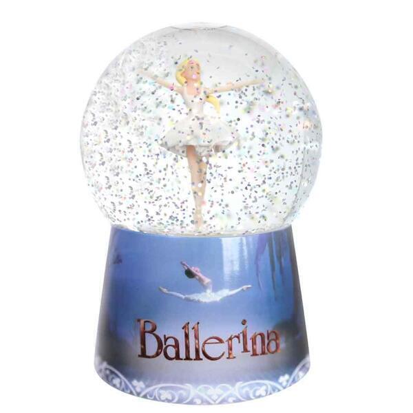 Trousselier - Veilleuse Boule à Neige Musicale Ballerina