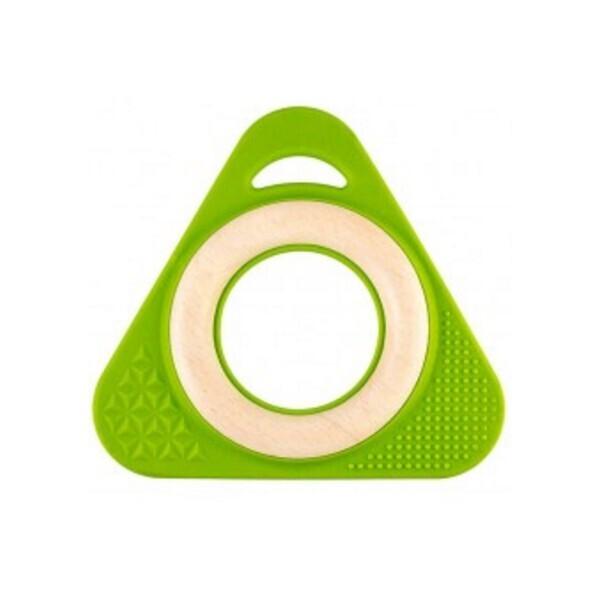 Little Big Things - Hochet Triangle Tri0+ vert
