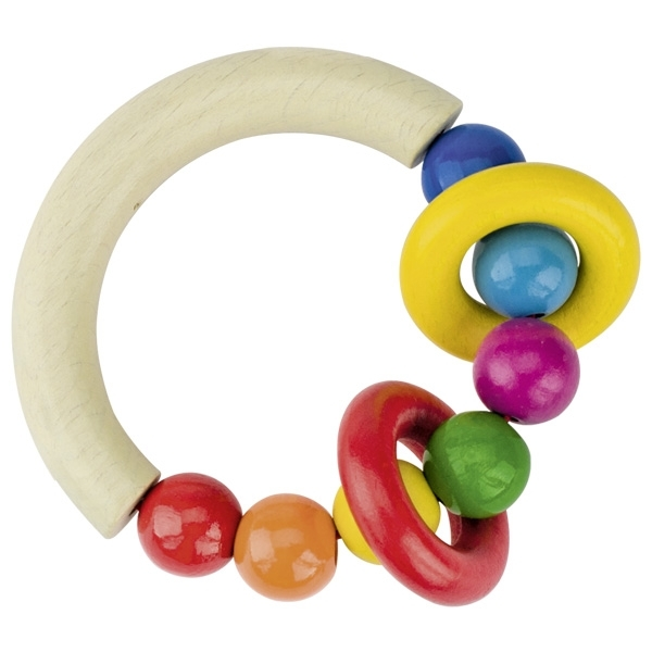 Heimess - Hochet perles & anneaux