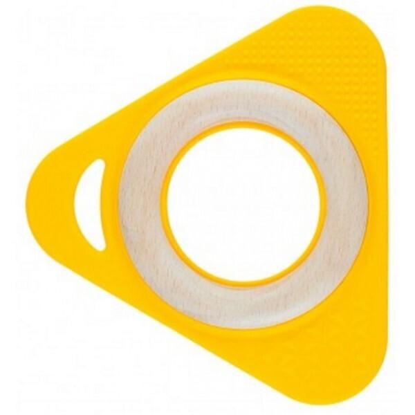 Little Big Things - Hochet Triangle Tri0+ jaune