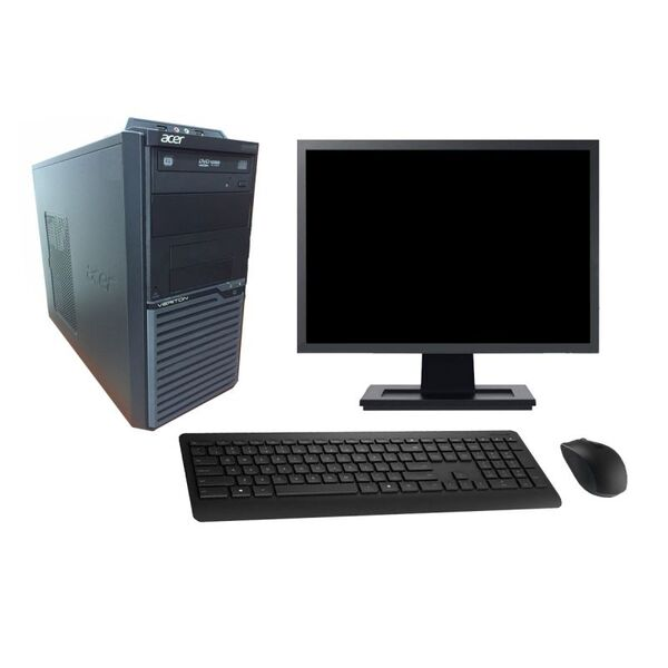 "Acer - Acer M2630G 19"" Intel i3-4130 RAM 8Go HDD 500Go W10 - comme neuf"