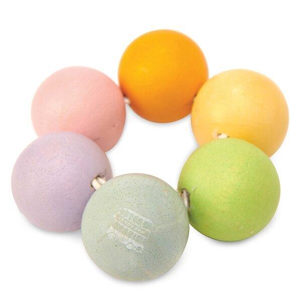 Le toy van - Hochet perles en bois