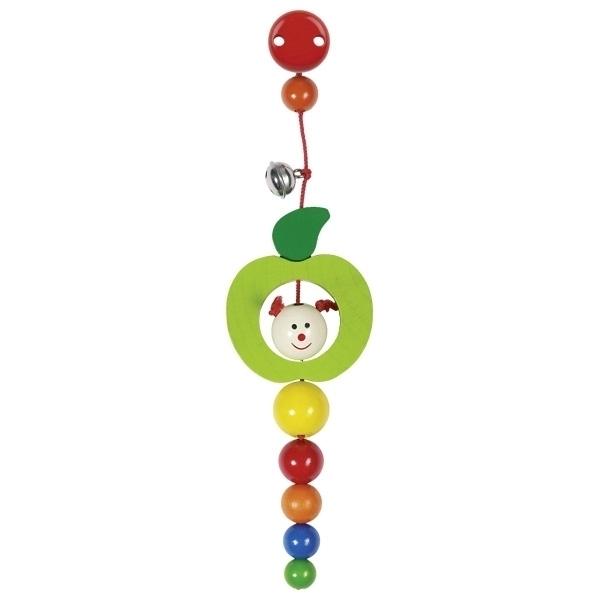Heimess - Hochet Chenille Pomme