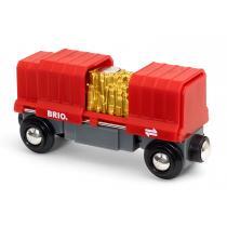Brio - Wagon cargo rouge