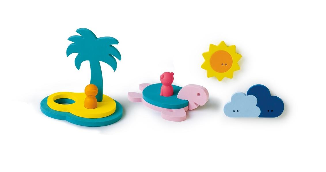 Quut - Puzzle de bain - L'île aux trésors