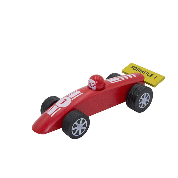 Foulon - Voiture Formule 1 - GM rouge