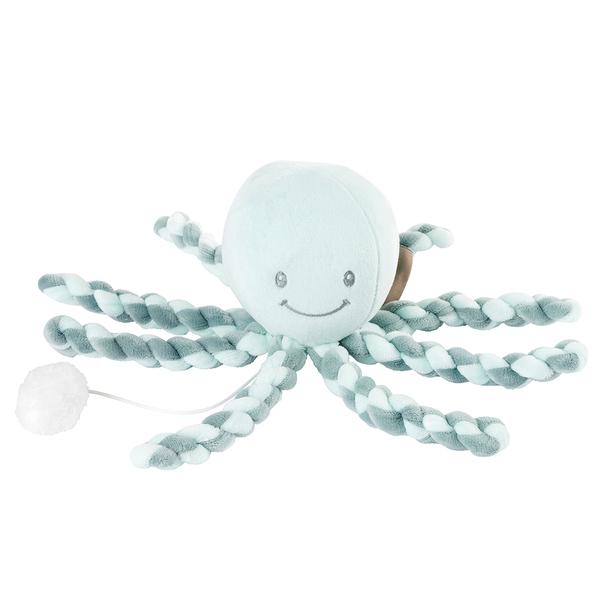 Nattou - Octopus Poulpe Musical vert de gris