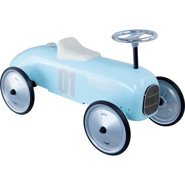Vilac - Porteur voiture vintage bleu tendre