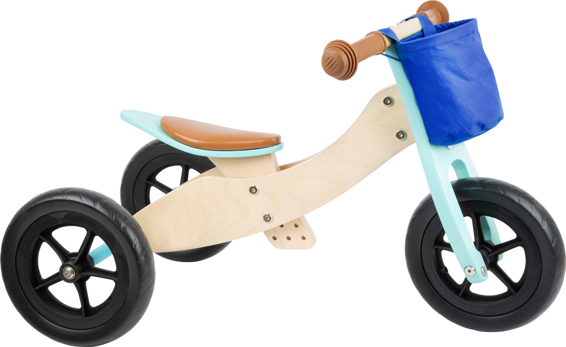 Small Foot - Draisienne Tricycle 2 en 1 Maxi Turquoise