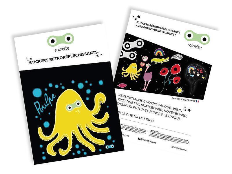 Rainette - Stickers Poulpe
