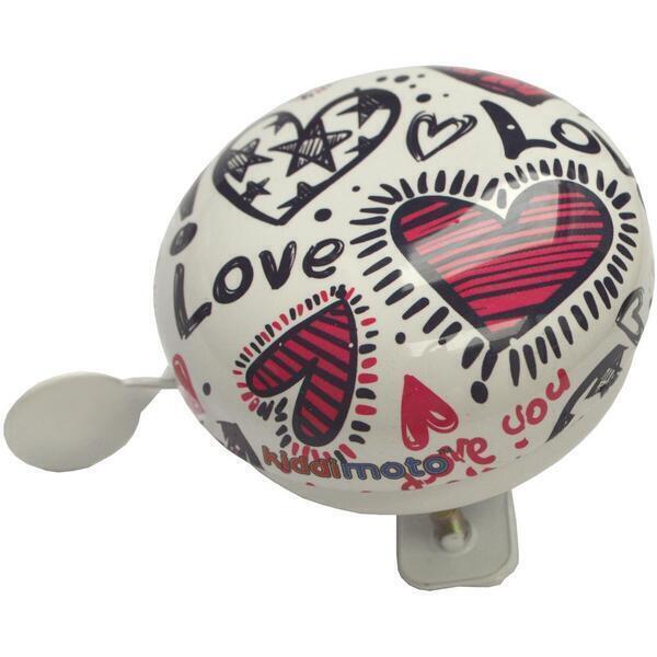 Kiddimoto - Sonnette Vélo Love