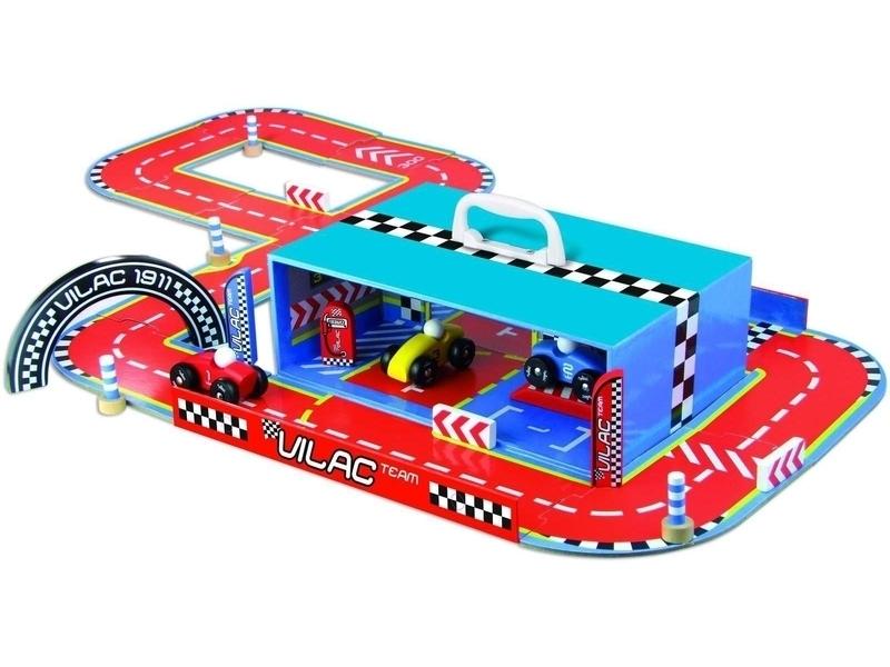Vilac - Circuit de course en valise
