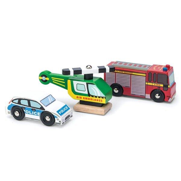 Le toy van - Véhicules de secours