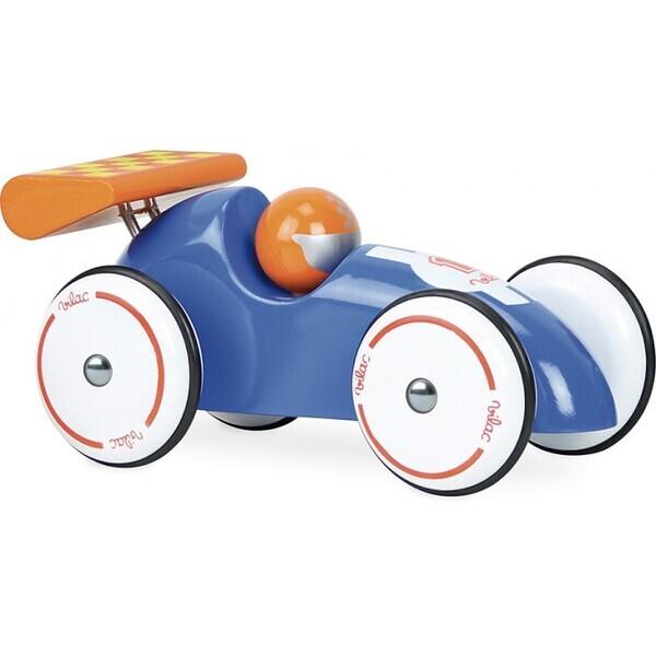 Vilac - Voiture de course XL bleue et orange