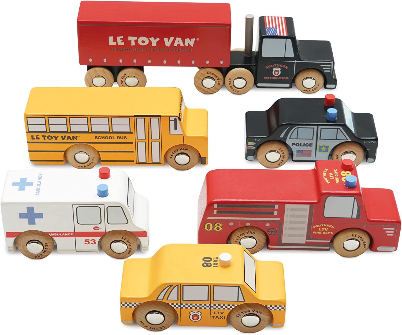 Le toy van - Les véhicules newyorkais