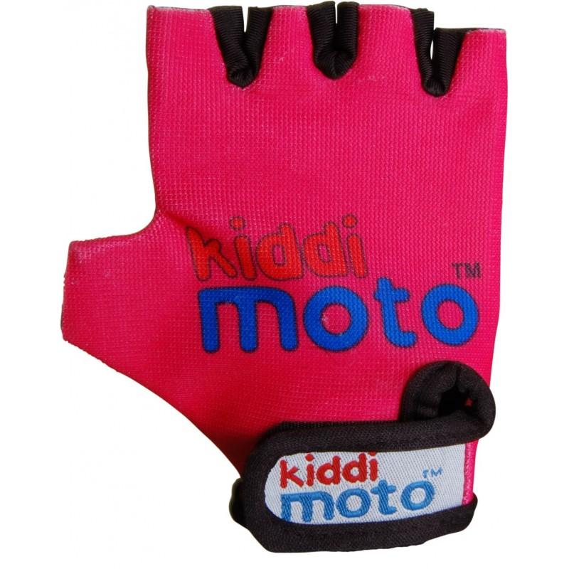 Kiddimoto - Gants Neon Pink MEDIUM