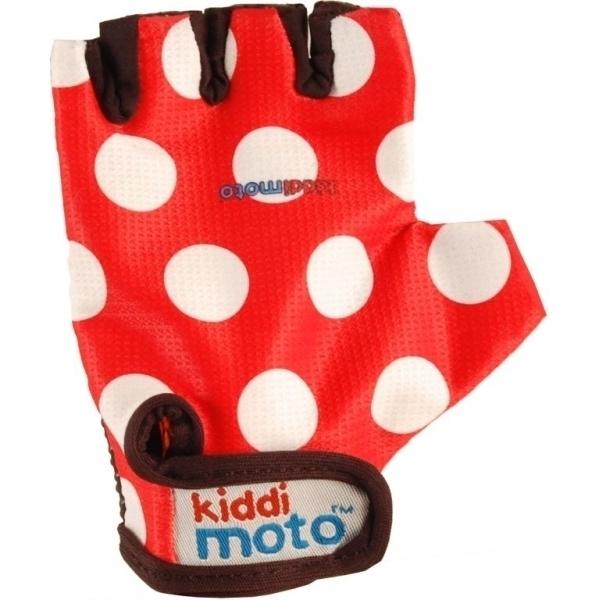 Kiddimoto - Gants Red Dotty MEDIUM