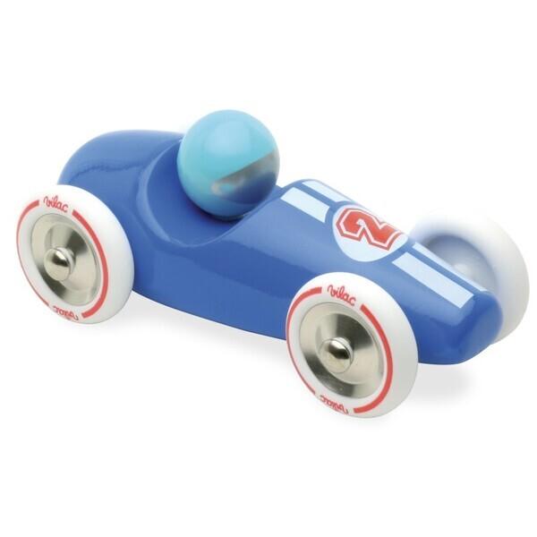 Vilac - Voiture de course GM bleue