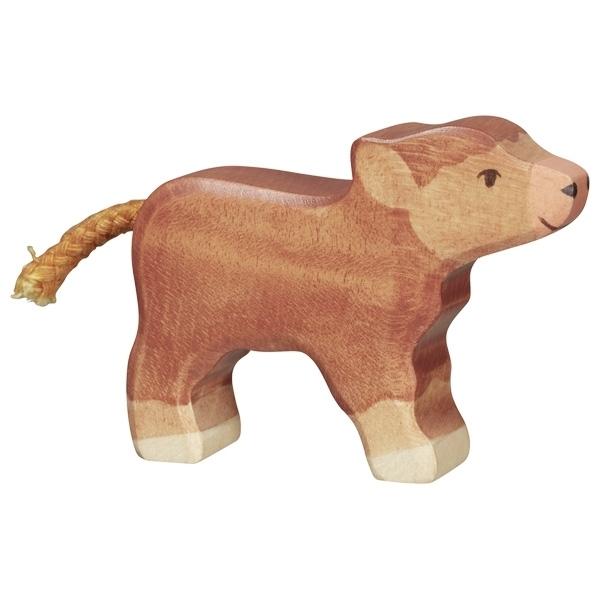 Holtztiger - Veau Higland cattle