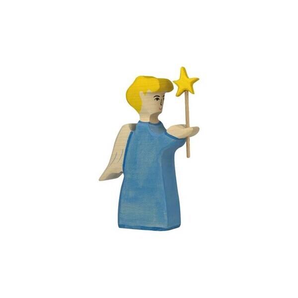 Holtztiger - Crèche de Noël - Ange avec étoile