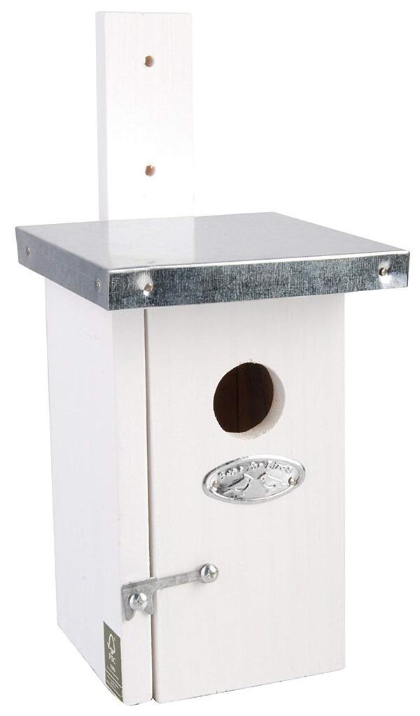 Esschert Design - Nichoir roitelet - blanc