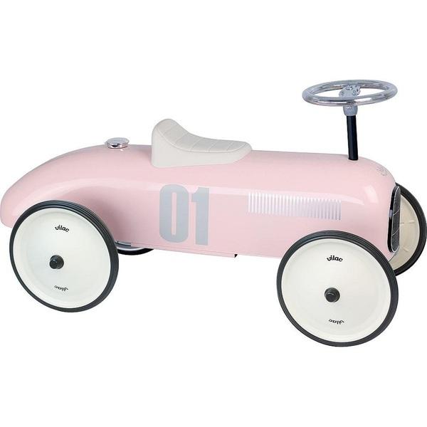 Vilac - Porteur voiture vintage rose tendre