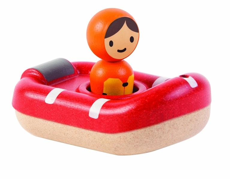 Plan Toys - Bateau de sauvetage pour le bain