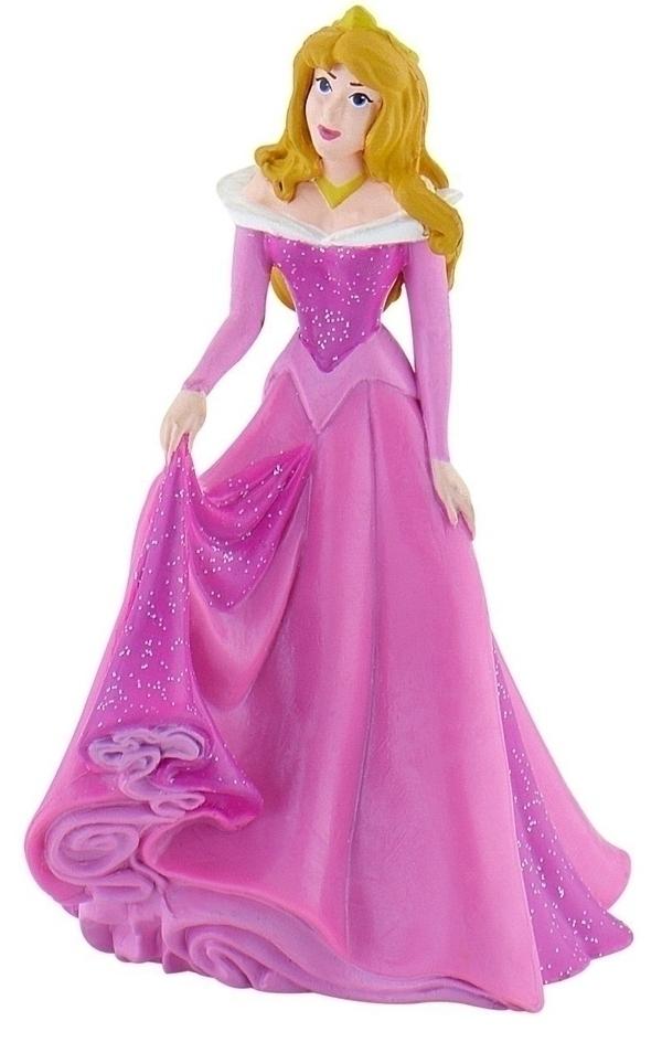 Bullyland - Aurore avec sa robe à paillettes