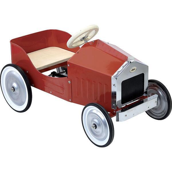 Vilac - Grande voiture à pédales rouge