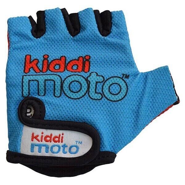 Kiddimoto - Gants Blue MEDIUM